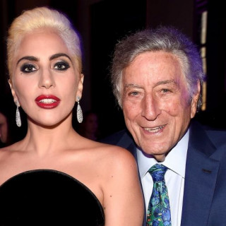 Lady Gaga And Tony Bennett At The Super Bowl!