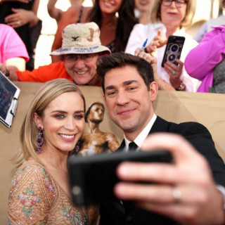 Emily Blunt and John Krasinski to Act Together in Thriller