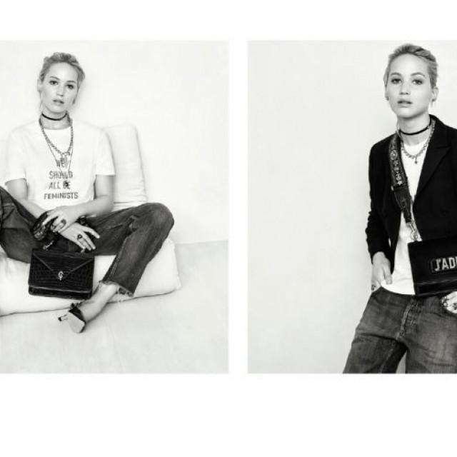 Jennifer Lawrence Presents New Campaign At Dior
