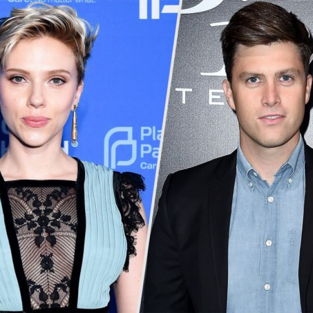 Scarlett Johansson Is Back With Colin Jost