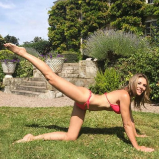 Elizabeth Hurley's Workout: A New Level Of Training