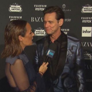 "Jim Carrey Gives Awkward Interview at NYFW Party: ""'There's No Meaning to Any of This'"