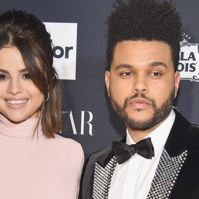 Rare Appearance On The Red Carpet Of Selena Gomez And The Weeknd