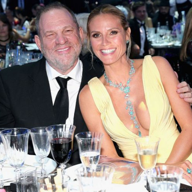 Heidi Klum spoke on the scandal with Harvey Weinstein