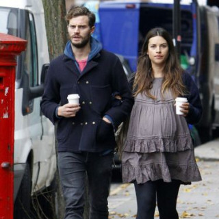Jamie Dornan's wife Amelia Warner provoked rumors of pregnancy