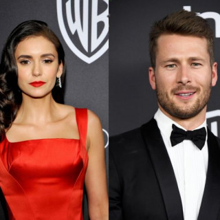 Nina Dobrev took a break in relations with Glen Powell