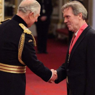 Hugh Laurie awarded the Order of the British Empire