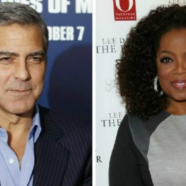 George Clooney and Oprah Winfrey will give American students $1 million for protests