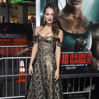 The premiere of the film 'Tomb Raider: Lara Croft' in Los Angeles