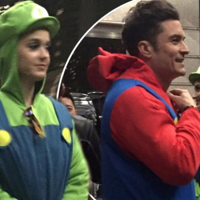 Katy Perry And Orlando Bloom Turned Into Mario And Luigi