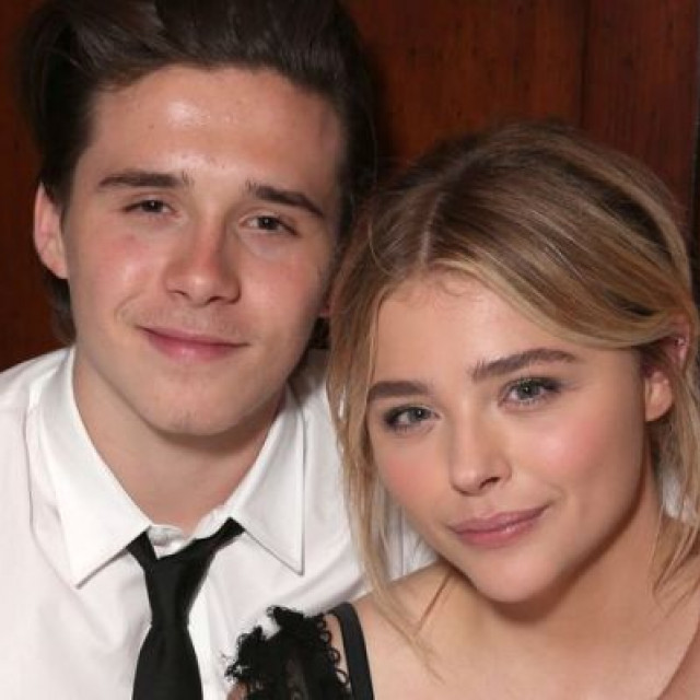 The reaction of Chloe Moretz to the betrayal of Brooklyn Beckham