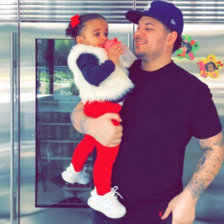 How Rob Kardashian's Daughter Can Look Like 2 Completely Different Girls In A Matter Of Minutes