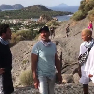 Will Smith and his family conquered the active volcano