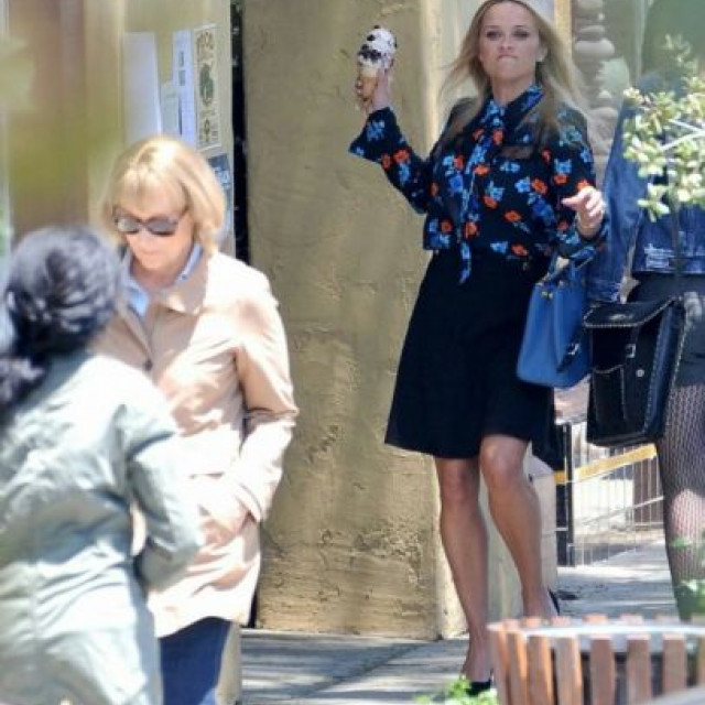 Reese Witherspoon attacked Meryl Streep with ice cream