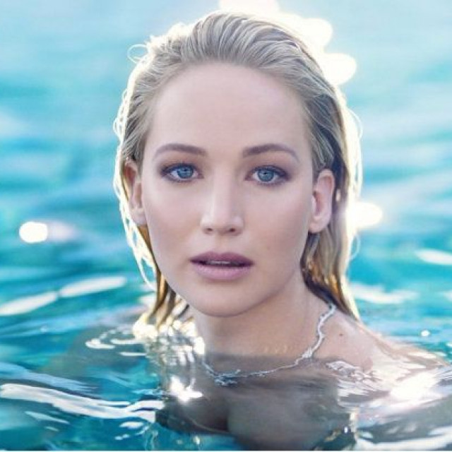 Jennifer Lawrence became the face of the new Dior fragrance