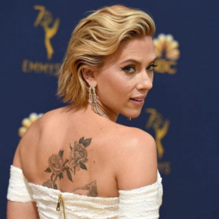 Scarlett Johansson made a tattoo in daughter honor