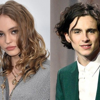 Lily-Rose Depp kissed Timothee Chalamet in New York
