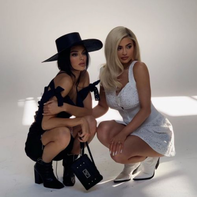 Kendall and Kylie Jenner hit photos in cowboy style