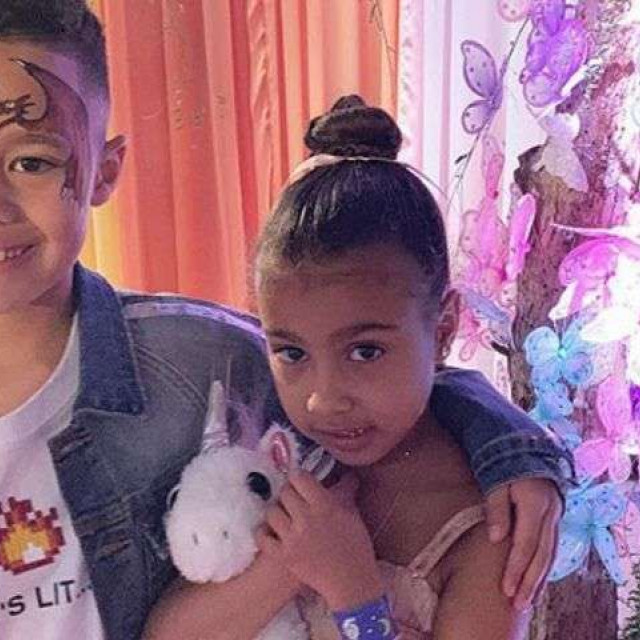 5-year-old daughter Kim Kardashian and Kanye West have the first boyfriend