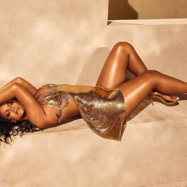 Rihanna starred in a seductive photoshoot