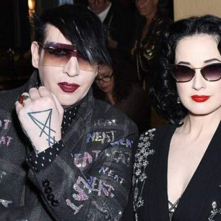 Marilyn Manson was suspected in the novel with his ex-wife