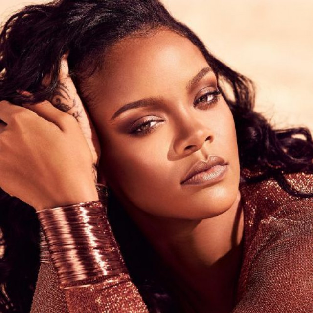 Rihanna announced the release of eyebrow products