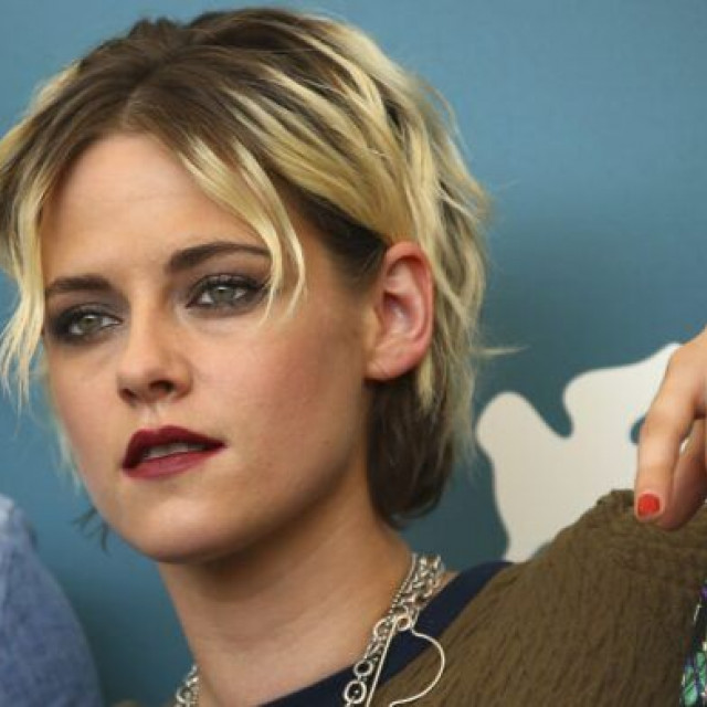 Kristen Stewart appeared in a hooligan image