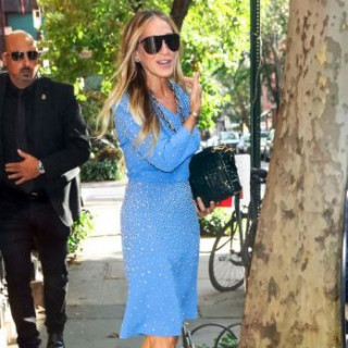 Sarah Jessica Parker changed two dresses in one day