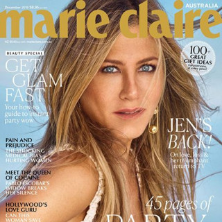 Jennifer Aniston starred for glossy Marie Claire
