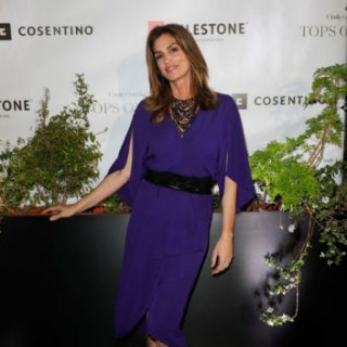 53-year-old Cindy Crawford appeared at a party in Houston