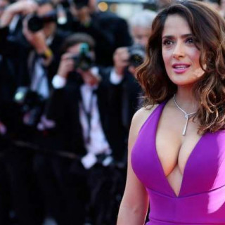 Salma Hayek spoke about an unsuccessful attempt to enlarge her lips