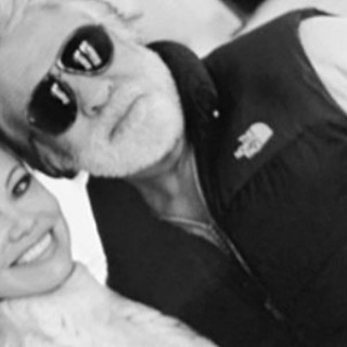 Pamela Anderson posted a photo with her 74-year-old husband