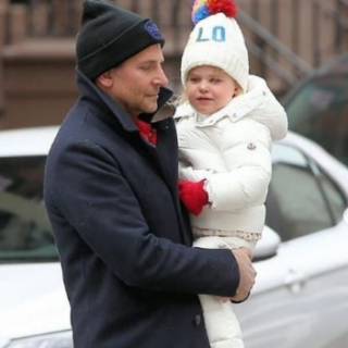 Bradley Cooper could not hold back his fatherly feelings for his daughter