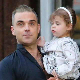 Robbie Williams is raising a child prodigy