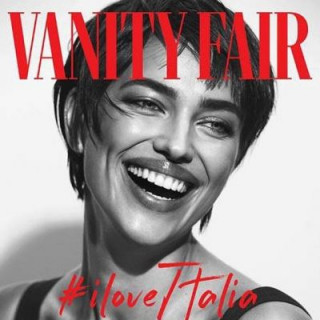 Irina Shayk with a short haircut shines on the cover of Vanity
