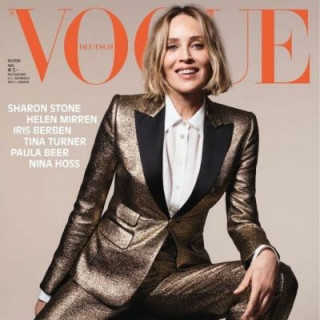 Sharon Stone took off her clothes and gave odds to young beauties