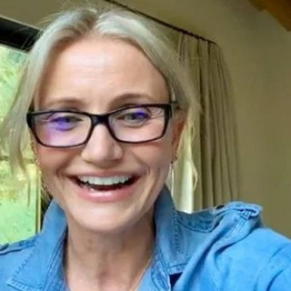 Cameron Diaz chatted with fans live on Instagram
