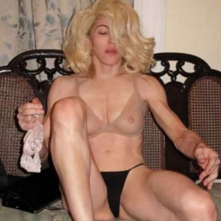Madonna shocked fans with a very candid look