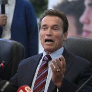 Arnold Schwarzenegger became a grandfather