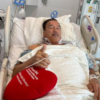 73-year-old Arnold Schwarzenegger underwent heart surgery