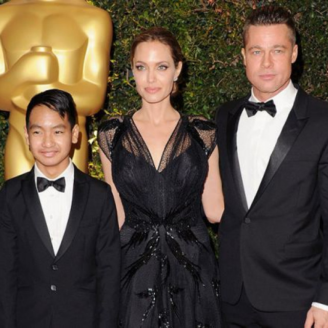Brad Pitt will spend Christmas with his children