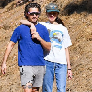 Shia LaBeouf and Margaret Qualley broke up