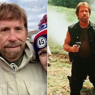 Chuck Norris had to deny his participation in protests at the Capitol in Washington