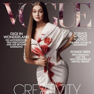 Gigi Hadid graced the cover of Vogue for the first time since giving birth to her daughter