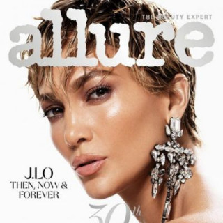 Jennifer Lopez surprised with a daring haircut on the cover of the magazine