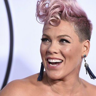 Singer Pink got a pet from a shelter