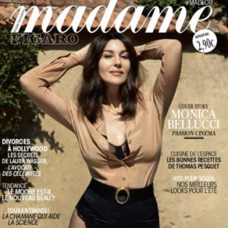 Monica Bellucci posed for the glossy