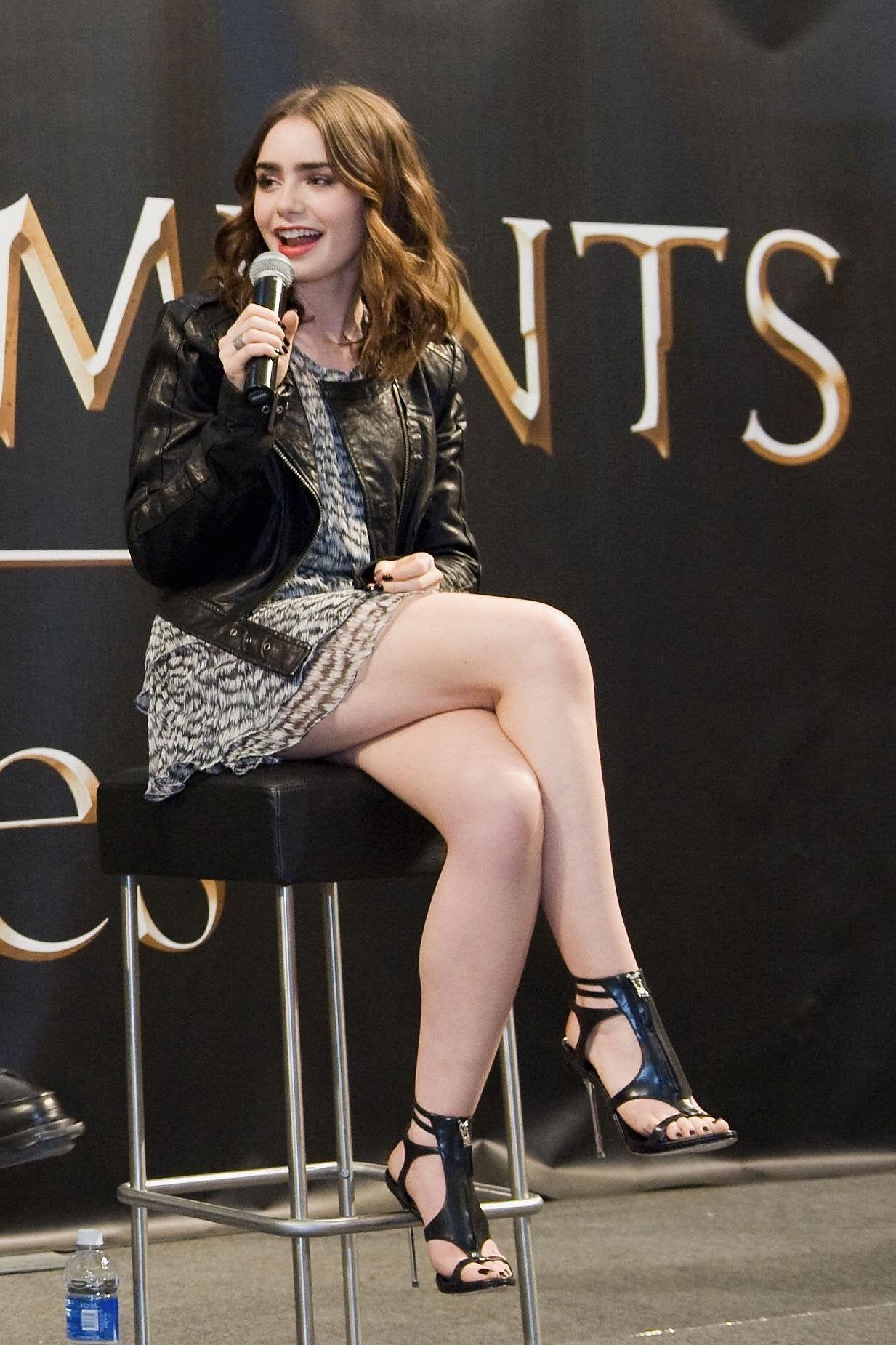 Lily Collins Hot