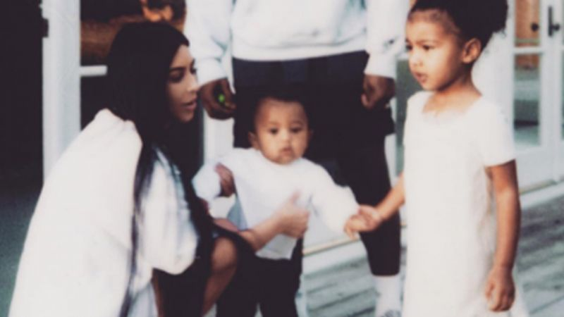 Kim Kardashian Is Back On Social Media: See A Cute Family Snap