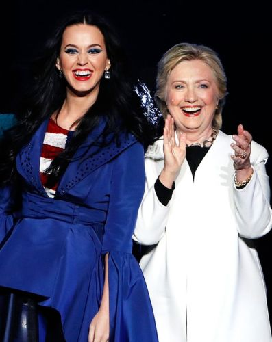 A Shoe In Katy Perry's Collection Is Named After Hillary Clinton
